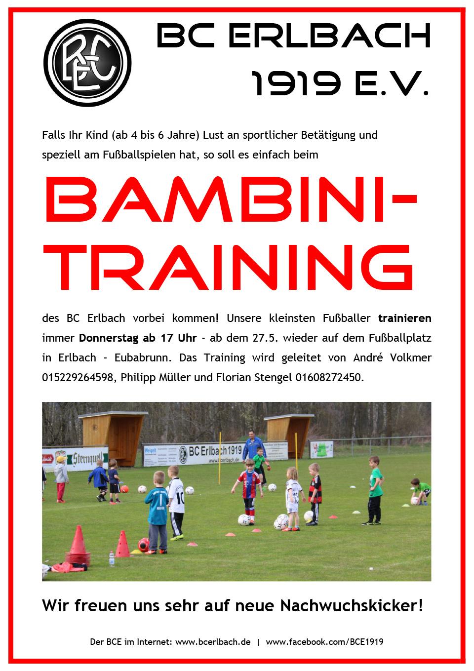 Bambini - BC Erlbach 1919 e.V.