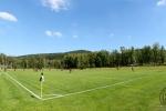 Fußballplatz - Panorama