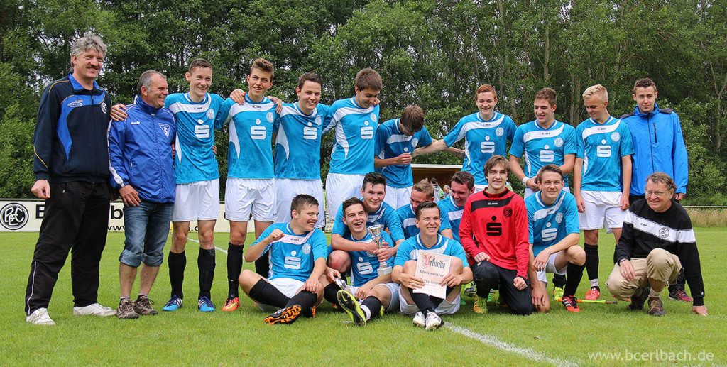 B-Jugend 2014/15 - Double Sieger